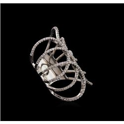 1.03 ctw Diamond Ring - 14KT White Gold