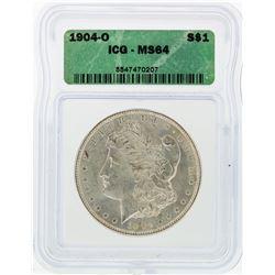1904-O ICG MS64 Morgan Silver Dollar