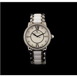 David Yurman Stainless Steel 1.10 ctw Diamond Classic Watch