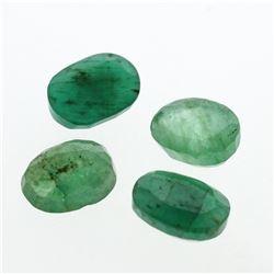 5.14 cts. Oval Cut Natural Emerald Parcel