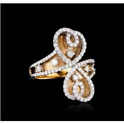 18KT Yellow Gold 1.25 ctw Diamond Ring