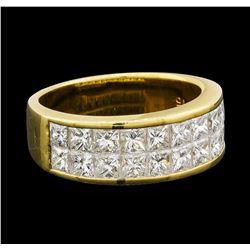 2.15 ctw Diamond Ring - 18KT Yellow Gold