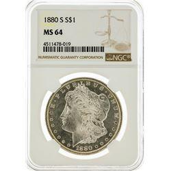 1880-S NGC MS64 Morgan Silver Dollar