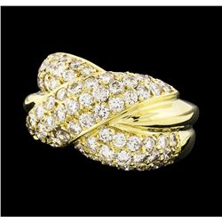 2.75 ctw Diamond Ring - 14KT Yellow Gold