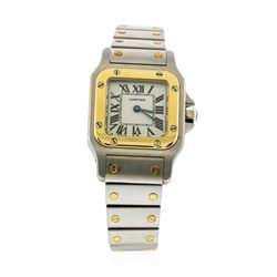 Cartier Stainless Steel Santos Ladies Watch