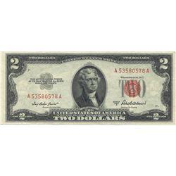1953-A $2 XF/AV Red Seal Note
