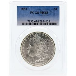 1882 PCGS MS63 Morgan Silver Dollar