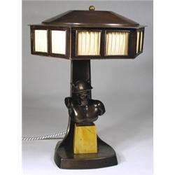 Art Deco Tischlampe