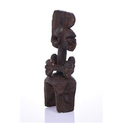 African Baga Sculpture Carved From Wood, Guin