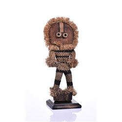 African Pende Munganji Spirit Dancer Doll Mad