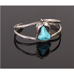 Native American Turquoise Center Stone 925 St