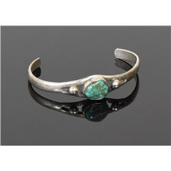 Native American Beautiful Green Turquoise and