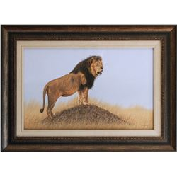 """""""King of the Mara"""" by Leon Fouche"""