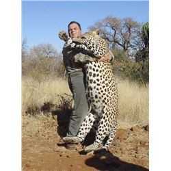Leopard hunt in Namibia for one hunter (14 days)
