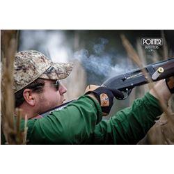 4 night stay in San Javier, Santa Fe for 4 hunters to hunt eared dove, Argentina duck, and perdiz.