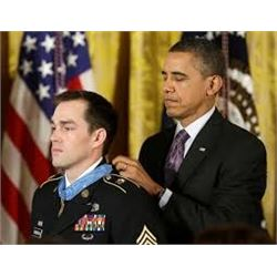 Presidential Hunt package with Medal of Honor recipient, Staff Sergeant Clint Romesha