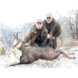 Chamois hunt in Serbia for 1-2 hunters (5 days)
