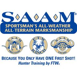 2 HUNTERS FOR SAAM™ PRECISION & SAFARI HUNT COMBO AND $2,000 TOWARD TROPHY FEES FOR EACH HUNTER