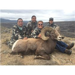 TAOS PUEBLO ROCKY MOUNTAIN BIGHORN SHEEP PERMIT - GORGE HUNT