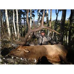 2018 Utah Fillmore, Pahvant Landowner Elk Permit, Hunter's Choice
