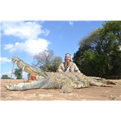 3-Day 1x1 guided Crocodile Hunt for one (1) experienced hunter