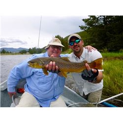 Big Sky Montana - Six Nights for up to Six People & Three Days Guided Flyfishing for 2 people