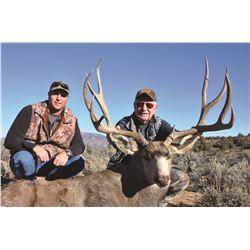 2018 Jicarilla Tribe Mule Deer Auction Permit