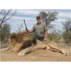 2018 South African Lion Hunt