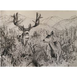 """2018 MDF Artist of the year """"Down from the High Country"""" Original"""