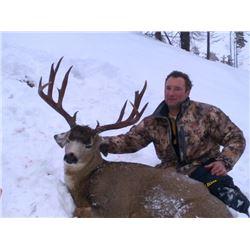 2018 Washington Mule Deer Permit