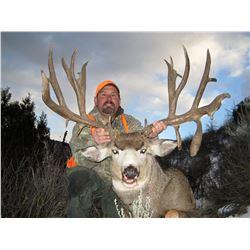 2018 Colorado Statewide Mule Deer License