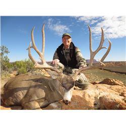 2018 Utah Henry Mtns Deer Conservation Permit – Season Choice