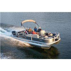 22ft Suntracker pontoon boat