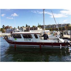 4-Person Alaska Salmon & Halibut Fishing Charter