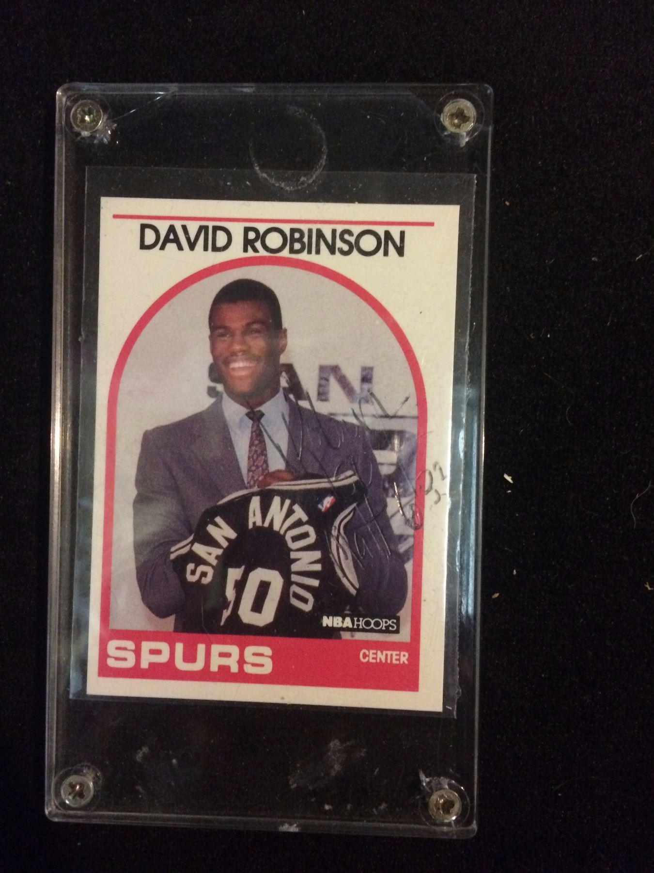 1988 89 David Robinson 138 Hoops Rookie