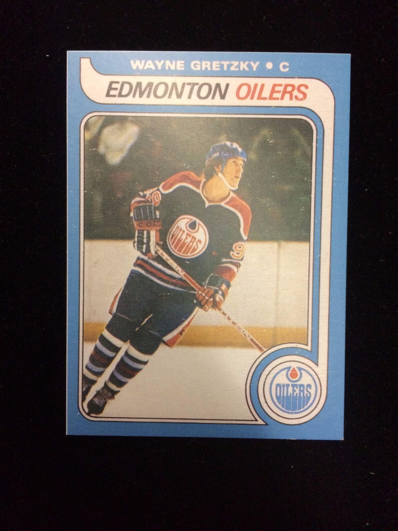 1979 Wayne Gretzky O Pee Chee Rookie Card Reprint