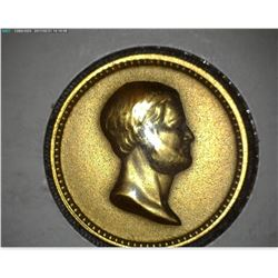 George Washington/Ulysses S. Grant Bronze Medalet,19mm, rd, BU.
