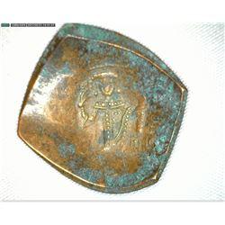 12th Century Byzantine Scyphate, Bronze.