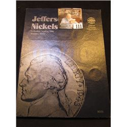 1996-2004D Partial Set of Jefferson Nickels in a blue Whitman folder. (17 pcs.).