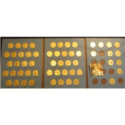 1962-94 Partial Set of Jefferson Nickels in a Whitman album. (55 pcs.). Lots of high grades.