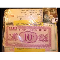 (51) Different Food Stamp Coupons & Scrip.