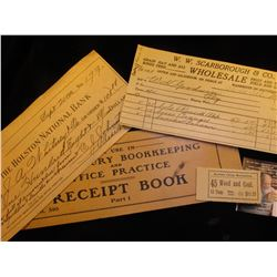 1911  For Use in 20th Century Bookkeeping and Office Practice Receipt Book Part 1 No. 510;  190_ The