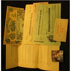 Phoney Mazuma You Cant Pass Me  10; Copyright 1947 by Bert J. Bratt Pony Express Money One Thousand
