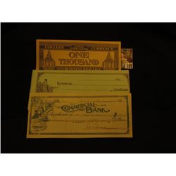 College One Thousand Currency One Thousand For Use in Business Practice  College Currency Note; 189