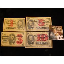 One ,  Three ,  Five , &  Ten   The Eastman College Bank Poughkeepsie, New York . Nice Crisp Uncirc