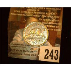 1947 Canada Nickel, AU.