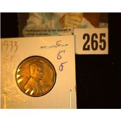 1933 P Lincoln Cent, EF.