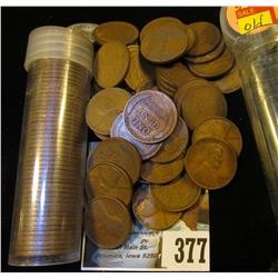 Over 100 old U.S. Wheat Cents, many date back into the teens.
