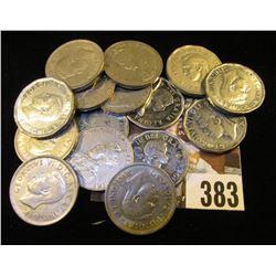 1924 VF, 31 VF, 34 VF, 36 Fine, 37 Dot VF, 39 VF, 40 EF, 41 EF, 44 AU, 45 AU, 47 Maple Leaf AU, 52 A