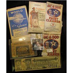 "1906 Sample ""Neuralgine Stops Aches & Pains…Price 25 Cents Neuralgyline Company Wheeling, W. Va.""; ("